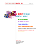 8 US Retail Themes for Holiday 2015 by FBIC Global Retail Tech Oct. 22