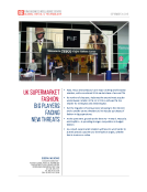 Quick Take on UK Supermarket Fashion by FBIC Global Retail Tech Sept 30