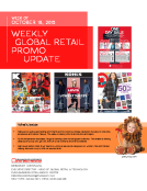 Weekly Retail Promo Update by FBIC Global Retail Tech Wk of Oct. 18 2015