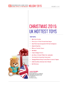 UK Christmas 2015 Hottest Toys by FBIC Retail Tech Nov.12