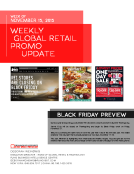 Weekly Retail Promo Update by FBIC Global Retail Tech Wk of Nov. 15 2015