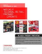 Weekly Retail Promo Update by FBIC Global Retail Tech Wk of Nov. 8 2015