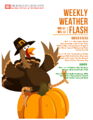 Weekly Weather Flash by FBIC Global Retail and Technology November 3