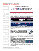 Giving Tuesday 2015 Report by FBIC Global Retail Tech