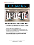 Primark Update by FBIC Global Retail Tech Dec. 2015