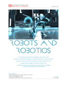 Robots and Robotics Report by FBIC Global Retail Tech Jan 6 2016