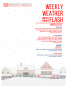 Weekly Weather Flash by FBIC Global Retail Tech Jan. 28