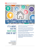 Connected Home Series Wrapup by FBIC Global Retail Tech Feb. 2016