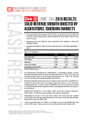 DIA BME DIA FY2015 Results by FBIC Global Retail Tech Feb. 24 2016