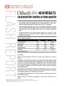 Dillards DDS 4Q2015 Results by FBIC Global Retail Tech Feb 22 2016