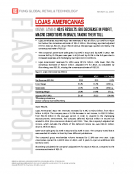 Lojas Americanas LAME 4 4Q2015 Results by Fung Global Retail Tech Mar. 11 2016