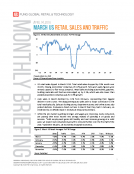 Mar 2016 US Retail Sales and Traffic Report by Fung Global Retail Tech