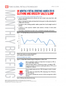 UK Mar. 2016 Retail Sales Monthly Briefing by Fung Global Retail Tech Apr. 21