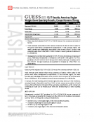 Guess GES 1Q17 Results by Fung Global Retail Tech May 25 2016