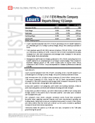 Lowes LOW 1Q16L Results by Fung Global Retail Tech May 18 2016