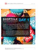 SHOPTALK DAY 1 Takeaways by Fung Global Retail Tech May 16 2016