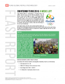 Countdown to Rio 2016 8 Weeks by Fung Global Retail Tech June 13 2016