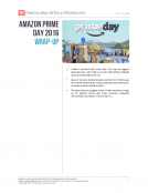 AMAZON PRIME DAY 2016 WRAP-UP by Fung Global Retail Tech July 13 2016