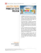 Amazon Prime Day 2016 Preview by Fung Global Retail Tech July 7 2016