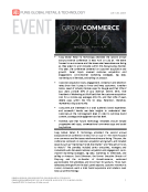 GrowCommerce conference  2016 by Fung Global Retail Tech July 28 2016