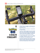 PokemonGo Stealth Fitness App by Fung Global Retail Tech July 26 2016