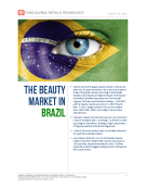 The Beauty Market in Brazil by Fung Global Retail Tech August 10 2016