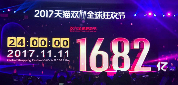 Alibaba's 11.11 Countdown Gala in Shanghai, China Source: FGRT